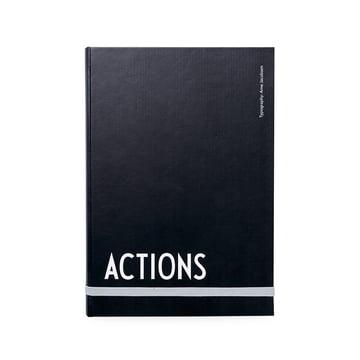 Design Letters - AJ Actions Notizbuch, A5