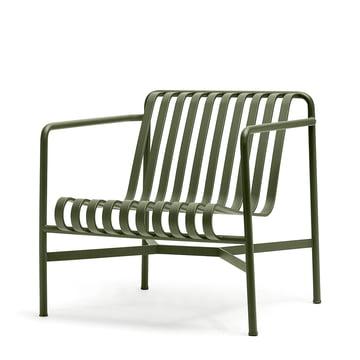 Der Palissade Lounge Chair Low von Hay in olive