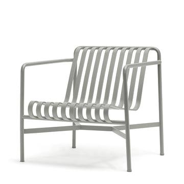 Der Palissade Lounge Chair Low in hellgrau