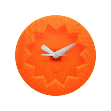 Crystal Palace Wanduhr von Kartell in Orange