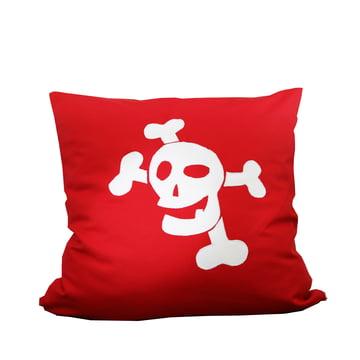 debe.deluxe Kissen Pirat von De Breuyn in Rot