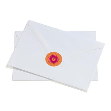 Sticker La Fonda Sun von Vitra auf Brief