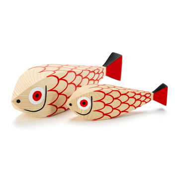 Wooden Dolls Mother Fish & Child von Vitra
