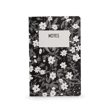 AJ Vintage Flowers Notizbuch in L von Design Letters