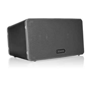 Sonos - PLAY:3 Multiroom Lautsprecher in Schwarz