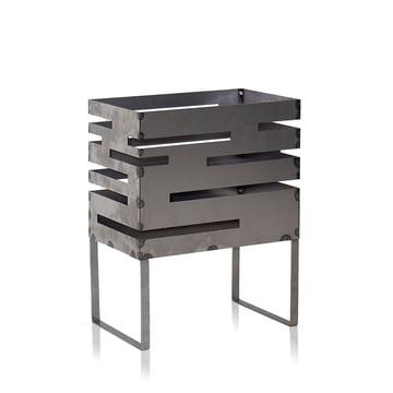 Urban Feuerkorb 50 von Röshults aus unbehandeltem Stahl
