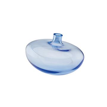 Die Rosenthal Swinging Vase in der Größe 14 cm und der Farbe mitternachtsblau / klar