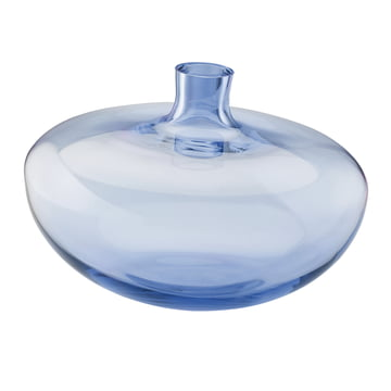 Die Rosenthal Swinging Vase in der Größe 26 cm und der Farbe mitternachtsblau / klar