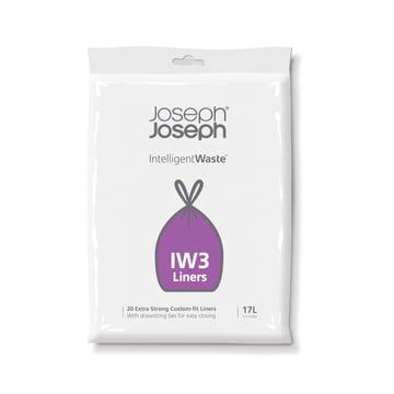 17 Liter Müllsäcke IW3 im 20er-Pack von Joseph Joseph