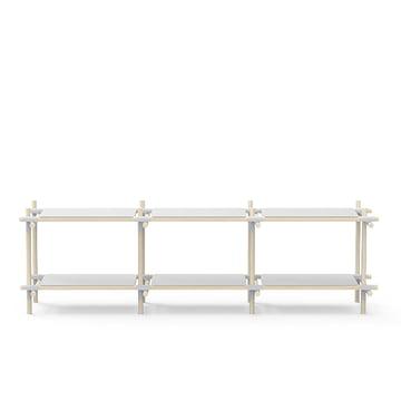 Menu - Stick System, grey / light ash 3 x 2