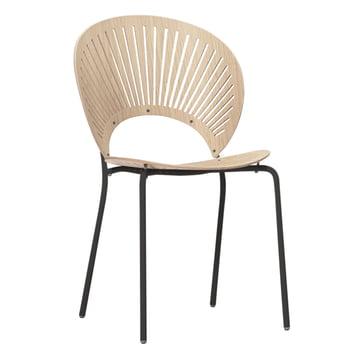 Trinidad Stuhl von Fredericia in Eiche/Schwarz