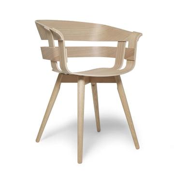 Der Wick Chair Wood in Eiche natur von Design House Stockholm