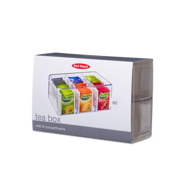 Rosti Mepal - Vorratsdose rechteckig für Teebeutel, klar