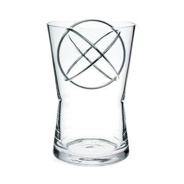 Sphere Vase Medium von Born in Sweden in Edelstahl