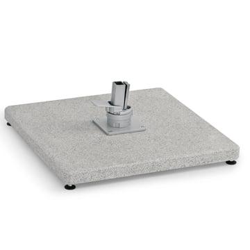 Schirmständer Bodenplatte für Freiarmschirm von Weishäupl aus Granit