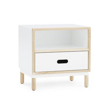 Kabino Nachttisch von Normann Copenhagen in weiß