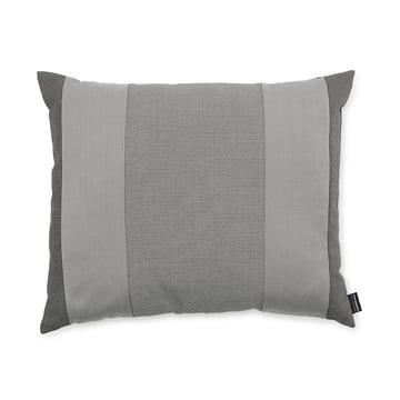 Line Cushion von Normann Copenhagen in der Größe 50 x 60 cm in hellgrau