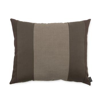 Line Cushion von Normann Copenhagen in der Größe 50 x 60 cm in braun