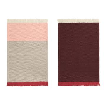 Trace Teppich von Normann Copenhagen in rosa / sand