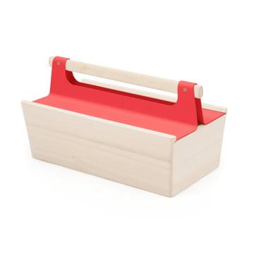 Louisette Tool Box von Hartô in Erbeerrot (RAL 3018)