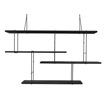 Link Setup 1 von Studio Hausen in Eiche Schwarz / Schwarz