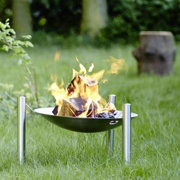 Gemütlicher Abend am Feuer