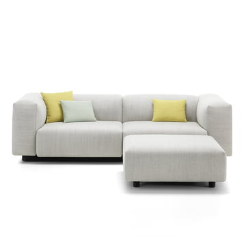 Soft Modular Sofa 2-Sitzer mit Ottoman von Vitra