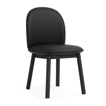 Ace Chair Tango Leather von Normann Copenhagen in Schwarz