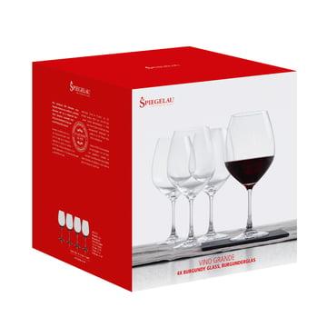 Burgunder Glas 4er-Set von Spiegelau