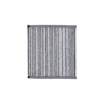 Varvunraita Gesichtstuch 30 x 30 cm von Marimekko in Weiß / Schwarz