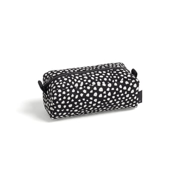 Die Hay - Dot Wash bag, S in schwarz
