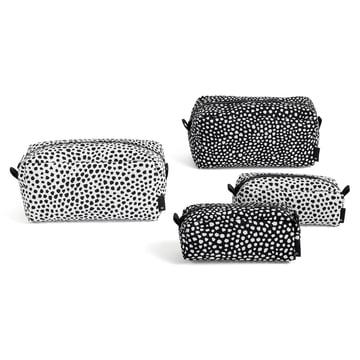 Die Hay - Dot Wash bag in S / L und den Farben weiß / schwarz