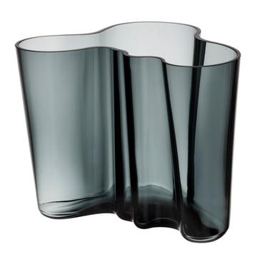 Iittala - Aalto Vase Savoy, dunkelgrau 160 mm