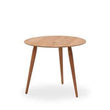 Play Round Wood Beistelltisch Ø 45 cm von bruunmunch in Eiche natur
