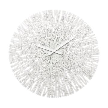Silk Wanduhr von Koziol in Weiß