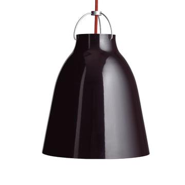 Caravaggio P3 Pendelleuchte von Lightyears in glänzend Schwarz