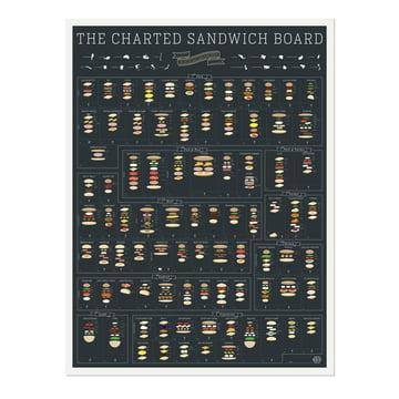 The Charted Sandwich Board von Pop Chart Lab