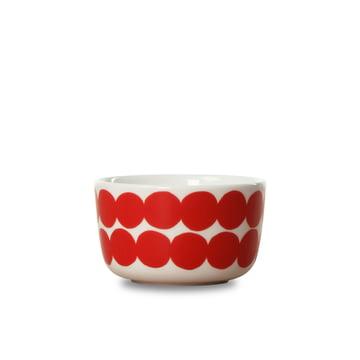 Oiva Räsymatto Schale 250 ml von Marimekko in Rot / Weiß