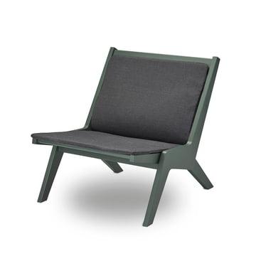 Miskito Lounge Chair von Skagerak in Hunter Green