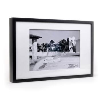 Berlin Frame in DIN A4 von XLBoom in Weiß / Schwarz