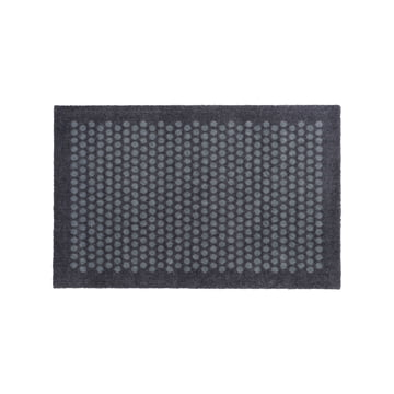 tica copenhagen - Dot Fußmatte, grau, 60 x 90 cm