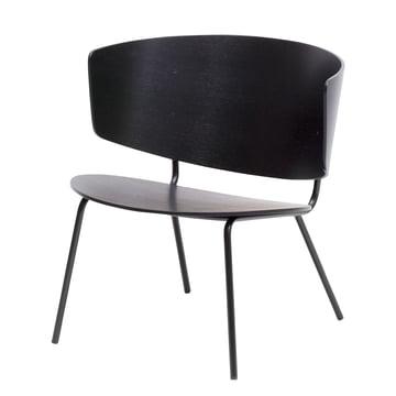 Herman Lounge Chair von ferm Living in Schwarz
