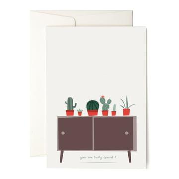 Die pleased to meet - Cactus Collection Grußkarte