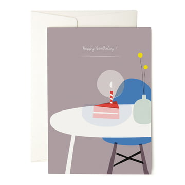 Die pleased to meet - A Piece of Cake Grußkarte