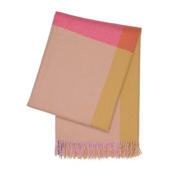 Colour Block Decke von Vitra in Pink und Beige
