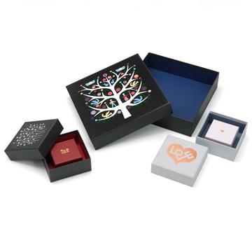 Graphic Boxes von Alexander Girard für Vitra