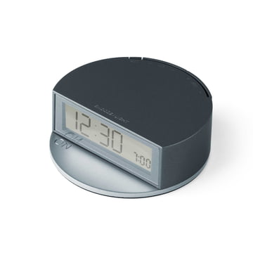 Fine Clock von Lexon in Blau / Grau