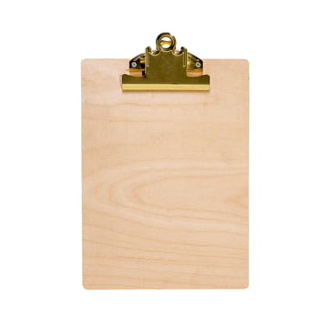 Bloomingville - Clipboard, nature matte / gold