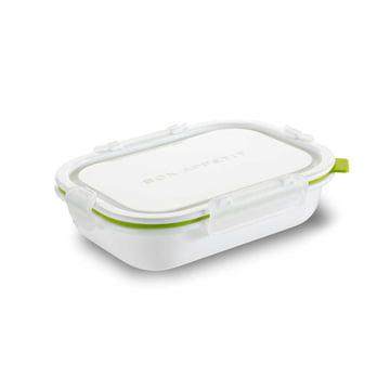 Rechteckige Lunch Box in Small von Black + Blum