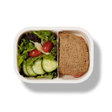 Rechteckige Lunch Box von Black + Blum